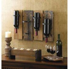 iron wall mounted wine racks u0026 bottle holders