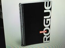 Rogue Fitness Black WOD Workout Exercise Book Nutritional Journal Log Crossfit