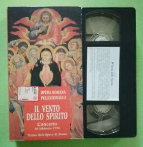 VHS Ita Musicale CONCERTO 10 Febbraio 1998 IL VENTO DELLO SPIRITO no cd lp (V56)