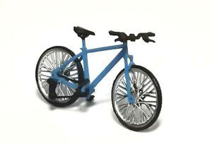 Exclusive! bicycle blue handmade 1:43