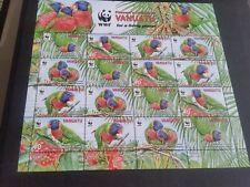 VANUATU 2011 SG 1094-1097  ENDANGERED SPECIES SHEET  MNH (x)