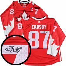 Crosby,S Signed Jersey Canada Replica 2016 World Cup Red
