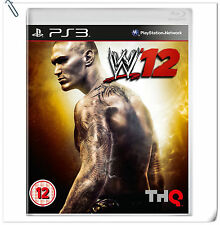 PS3 WWE 2K12 W12 SONY PlayStation 2K Action Games