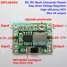 DC-DC Buck Converter 5V-23V to 3.3V 5V 9V 12V 3A Step Down Power Supply Module