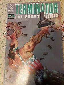 Terminator The Enemy Within Edginton #4 Dark Horse Comics February 1992 NM
