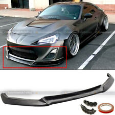 Fit 13-16 Scion Frs Urethane Gt Style Pu Front Bumper Chin Lip Spoiler Body Kit