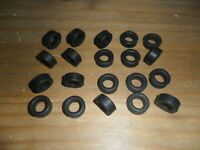 Scalextric 20 new grippy slick front car tyres tires Indy / modern F1 / Start F1