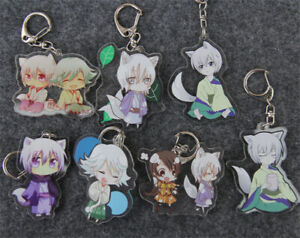 Kamisama Kiss Tomoe Nanami Mizuki Acrylic Keychain Cartoon Bag Pendant Kids Gift