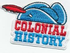 Girl Boy COLONIAL HISTORY Patches Crest Badge SCOUT GUIDE Revolutionary event