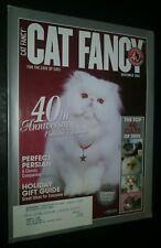 Cat Fancy Magazine 40th Anniversary Collector's Edition Nov. 2005 Persian Cover