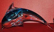 """Fifth Avenue Crystal Porpoise / Dalphen 10"""" Blown Glass L.T.D"""