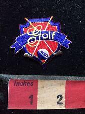 Red White & Blue GOLF Crest Patch 77V5