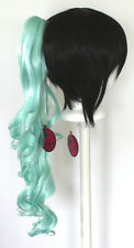 23'' Curly Pony Tail Clip Mint Green Cosplay Wig Clip Only NEW