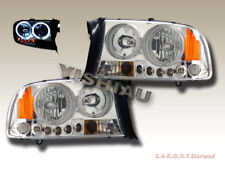 97 98 99 00 01 2002 2003 2004 Dodge Dakota Durango Headlights Chrome Clear