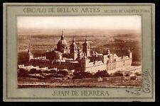 1903 Circulo de Bellas Artes Seccion de Archuitectura museum Spain postcard