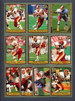 1999 Topps Collection Washington Redskins TEAM SET Champ Bailey Rookie