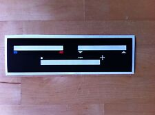 Ford Cortina MK 5, heater control decal