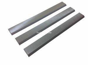 """6-1/8""""  HSS Jointer Knives blade for Ridgid JP0610, Set of 3"""
