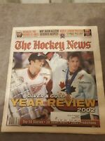 The Hockey News December 27 2002 Vol. 56 No. 17 Joe Sakic / Steve Yzerman