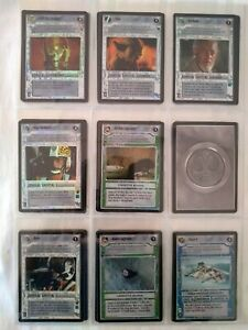 Star Wars ccg M/NM Reflections 1 Partial Light Side Foil set -> 10 missing READ