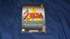 The Legend of Zelda Collector's Edition Nintendo Gamecube NEW Promo Disc
