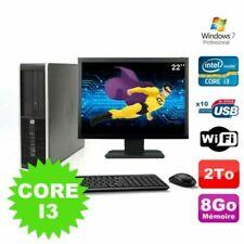 PC de bureau HP avec windows 7 pour 8 Go maximale de la ram