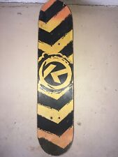 Kryptonics 31� Bravo Sports 2013 Skateboard Yellow Black