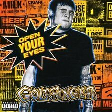 Goldfinger Open your eyes (2000/02; 17 tracks/enhanced) [CD]