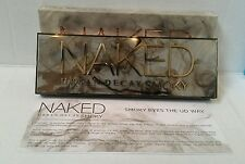AUTHENTIC Urban Decay NAKED SMOKY Eye Shadow Palette 12x 0.05 New in Retail Box.