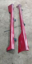 GENUINE HONDA Civic Type R Side-Skirts EP2 EP3 2001-2005 Red