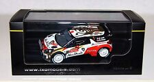 Ixo RAM534 1/43 Citroen DS3 WRC Rallye Monte Carlo 2013 Night version Loeb Rare