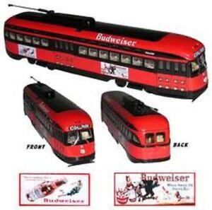 Corgi Budweiser St. Louis Ballpark Streetcar NEW RETIRED US55022 NIB