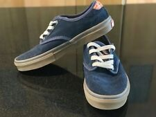 VANS CHIMA FERGUSON PRO SUEDE SHOE NAVY/GUM YOUTH 4Y EXCELLENT CONDITION