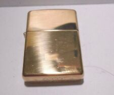 *NEW*  2014 C-14 ZIPPO HIGH POLISHED BRASS FLIP TOP FLUID CIGARETTE LIGHTER