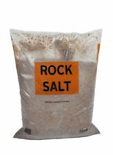 Peacock DE-ICING ROCK SALT, BROWN, 25KG Bag, Grit, Ice