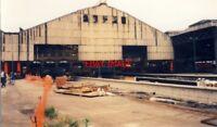 PHOTO  METRO CONSTRUCTION 1991 MANCHESTER VICTORIA METROLINK PLATFORM BUILDING