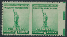 drbobstamps US Scott #896b Mint Hinged Error Pair Stamps Cat $32.50
