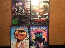 Johnny Depp [4 DVD] Fear Loathing Las Vegas + Sleepy Hollow + Dark Shadows + ...