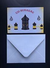 Beautiful Eid Greeting Cards X10 (103mmx70mm)