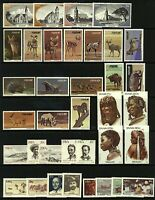 SWA 1980/6 ad-hoc range of commemorative sets and singles (64v) Mint Stamps