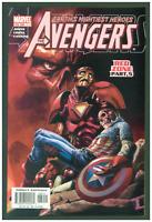 Avengers #69 VF/NM Marvel Comics 2003 Captain America Skull Cover