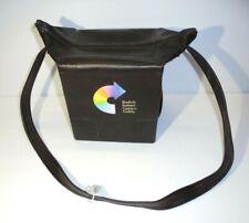Vintage Kodak Instant Camera Caddy Brown Faux Leather Storage Bag Case