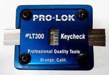 PRO-LOK # LT300 KEY CHECK KEYBLANK ID 1/EA.