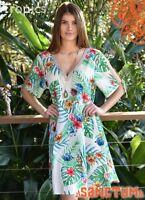 Sanctum TROPICS Dress NEW Cool Rayon Flattering Style Size 12 14 16