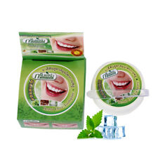Natural Herbal Thailand Toothpaste Teeth Whitening Fresh Breath 25g