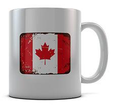 Canada drapeau tasse cadeau café anniversaire