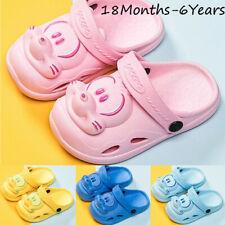 Summer Children Kids Baby Girls&Boys Cartoon Sport Beach Slipper Shoes Sandals