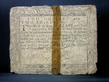 Colonial Currency ✪ Maryland December 7Th 1775 ✪ Fr Md-86 $2 L@K Now ◢Trusted◣