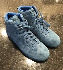 DQM x Nike Dunk High Premium Tier 0 Industrial Blue Suede Promo Model Sz.  10.5 c9ba0bcb7