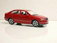 🚓 WELLY NEX CAR Scale Model 1:60 1/60 BOX SHKODA SKODA OCTAVIA red